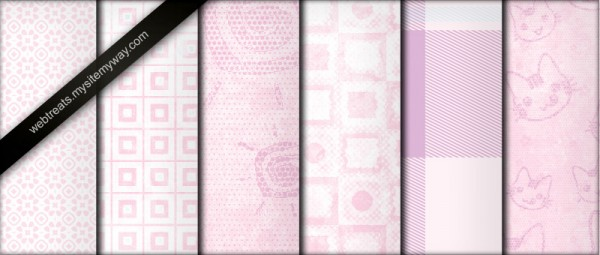 Baby Pink Pastel Tileable by WebTreatsETC