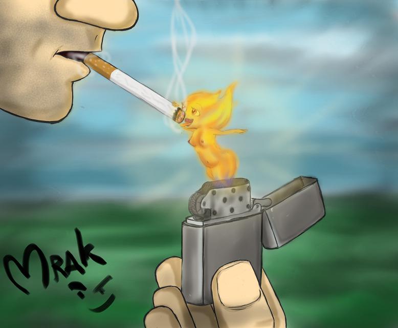 Light my fire by Mrakoboy