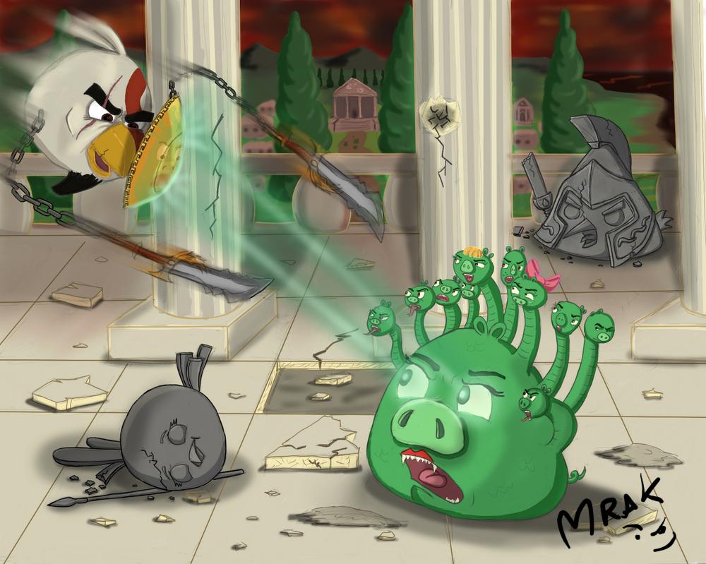 Bird of war by Mrakoboy