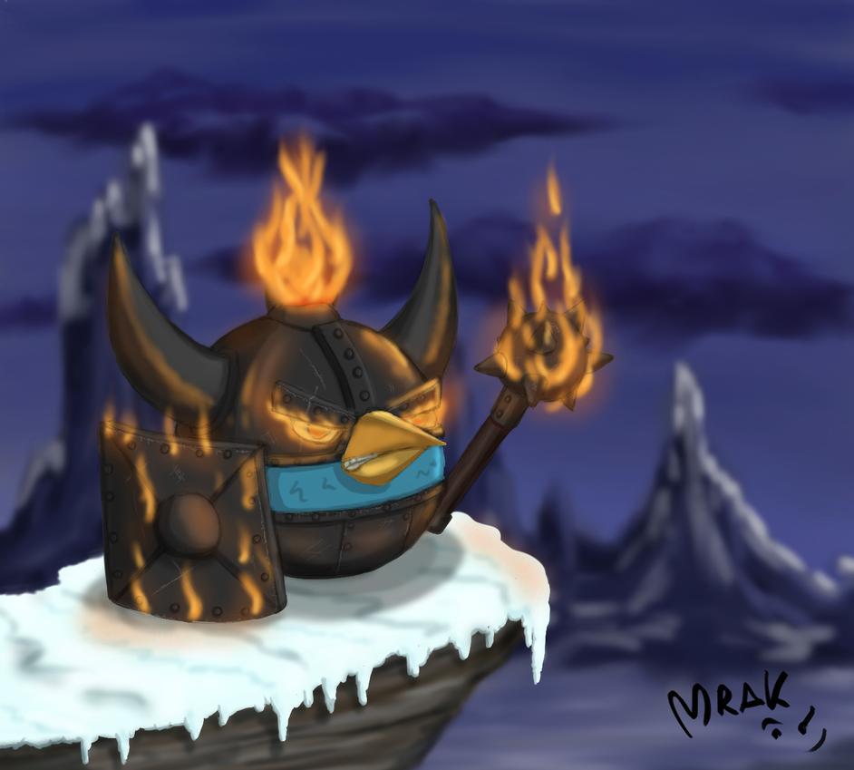OC Ab Fire Warrior by Mrakoboy
