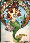 mermaid nouveau