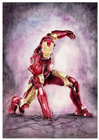 Iron Man by ktalbot