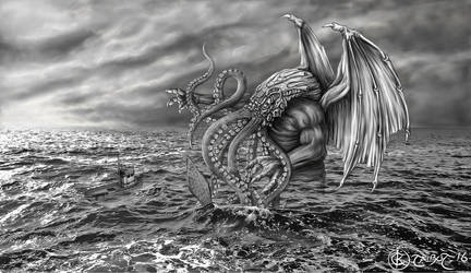 Wrath of Cthulhu by ktalbot