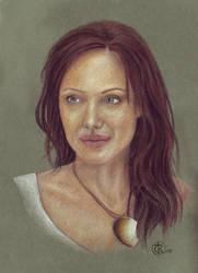 Angelina Jolie by ktalbot