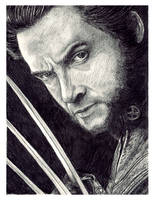 Hugh Jackman as Wolverine by ktalbot