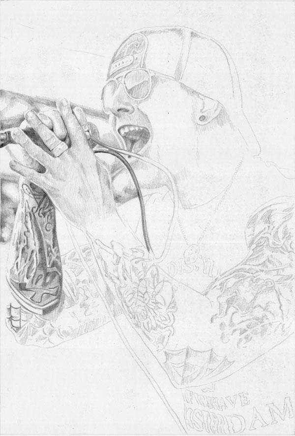 M. Shadows very early WIP1 by ktalbot