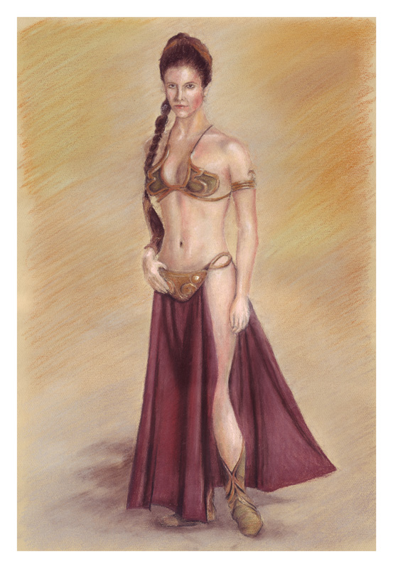 Leia Slave Girl by ktalbot
