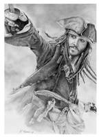 Jack Sparrow Pirates 3 Final by ktalbot