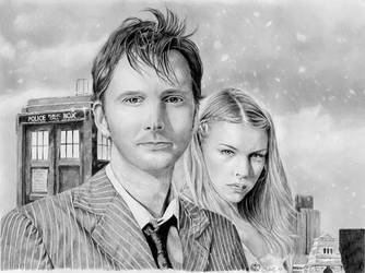 Doctor Who and Rose by ktalbot