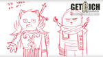 Get Rich: Animated - The Sunday LARP Animatic [LIN by GetRichSeries