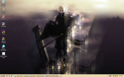 Final Fantasy Advent Children by silverkadaj