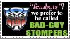 Fembot Auto Stamp by DABurgosART