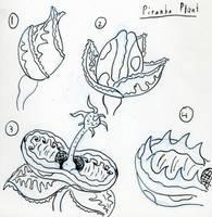 Piranha Plant- live action by DABurgosART
