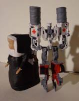 Transformer: Nunsense TOY 1 by DABurgosART
