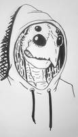 Hoodie, head detail by DABurgosART