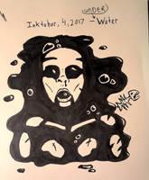 INKTOBER 4th, Underwater by DABurgosART