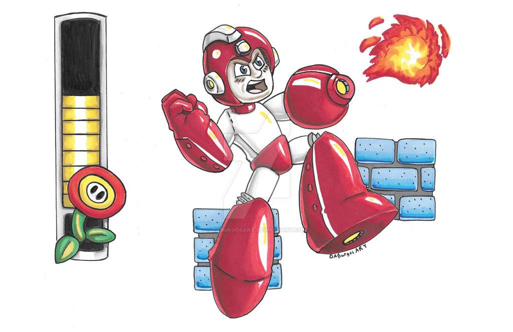 Mario-MAN by DABurgosART