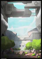 sci fi  barrage by cstlmode