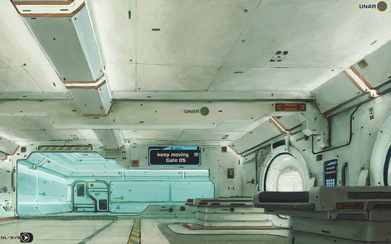 LUNAR station concept  colored