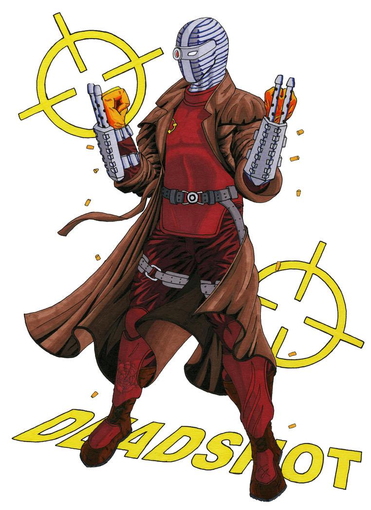 Deadshot Redesign Deadshot 1 by The-Prim...