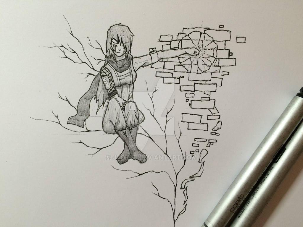 Broken Dreams Sketch By JLoked