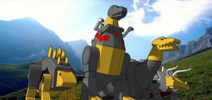 Dinobots 2 by kaxblastard