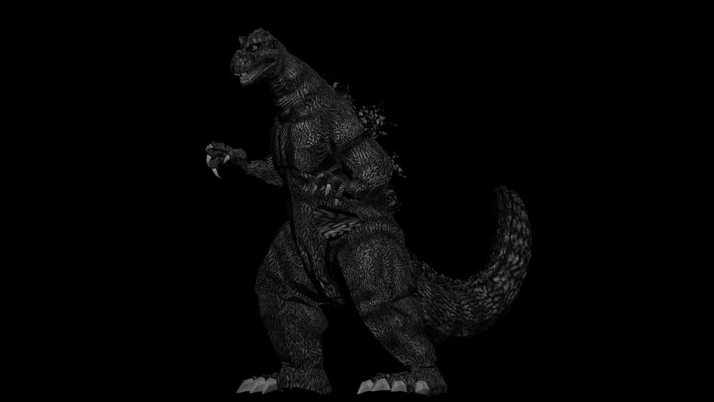 Godzilla 1954 by kaxblastard on DeviantArt