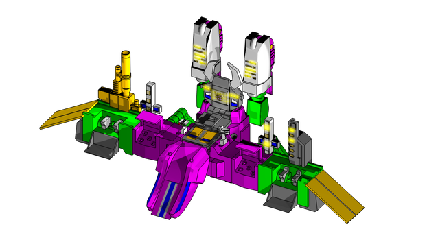 sketchup model Scorponok base DOWNLOAD LINK!!!
