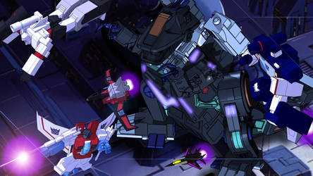 Come Trypticon! by kaxblastard