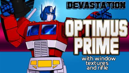 Optimus Prime DL LINK by kaxblastard