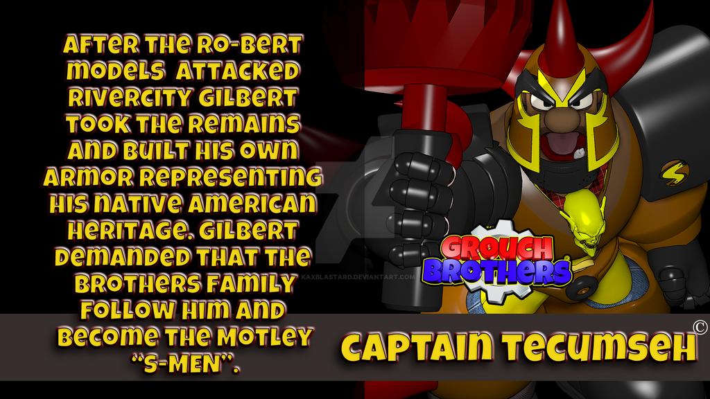 Grouch Brothers|Captain Tecumseh by kaxblastard