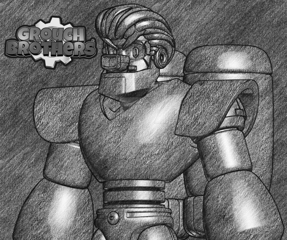 Ro-bert robot by kaxblastard
