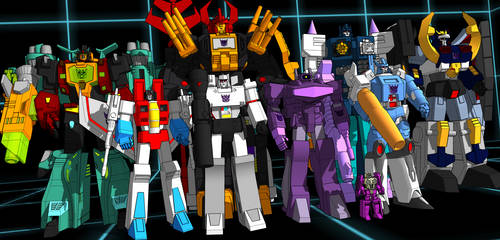 sketchup Decepticon leaders UPDATE DOWNLOAD!!!