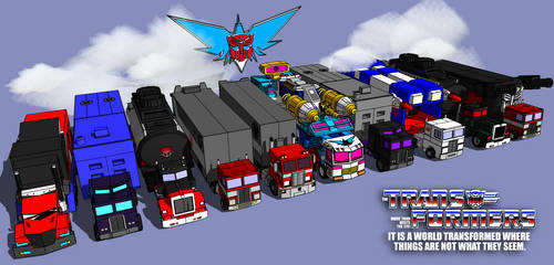 sketchup scene Transformers convoy DOWNLOAD!!! by kaxblastard