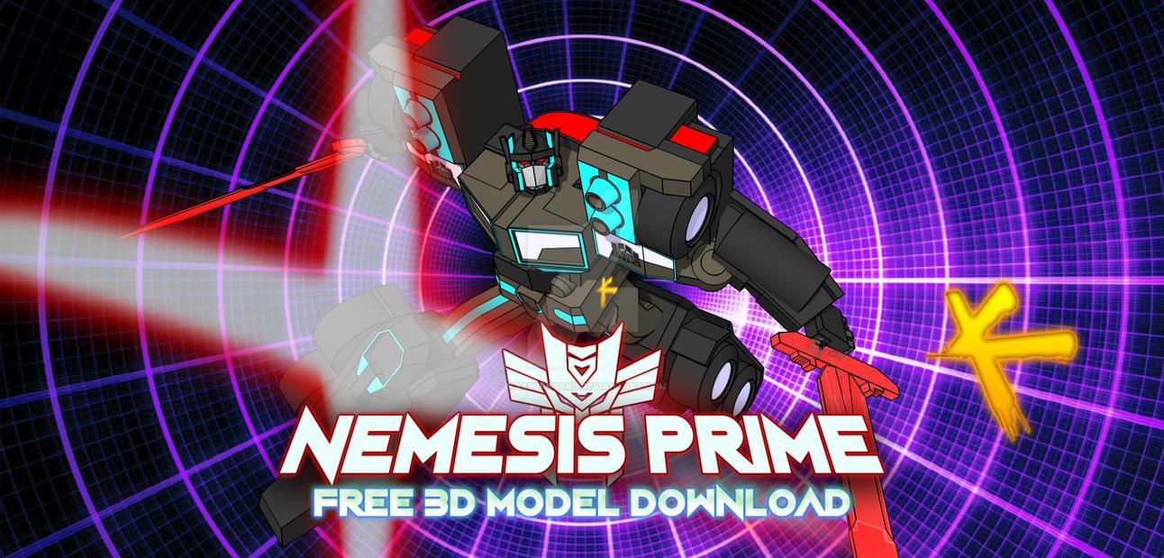 free sketchup RiD NEMESIS PRIME model by kaxblastard on DeviantArt
