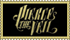 Pierce The Veil Golden Logo Stamp by JokerIsMYFreak