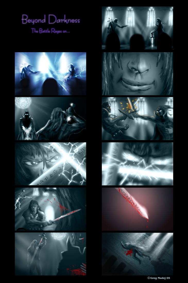 Beyond Darkness Board 2 Print