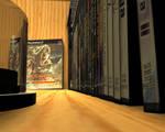 Game Cabinet Render 3