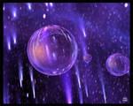 Glowing Spheres 3 Print