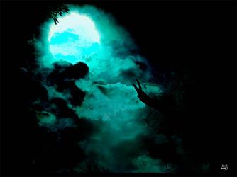Dark Moon Print