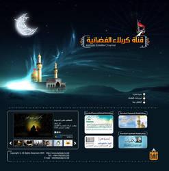 karbala tv website by paradiseglow