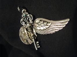 Key Pendant by Lollipopdunce