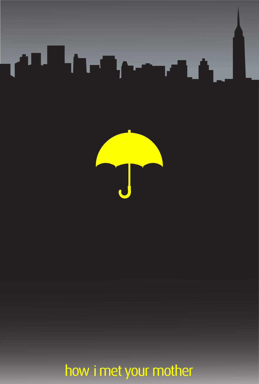 HIMYM Yellow Umbrella