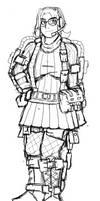 Jacinta's Exoskeleton Sketch