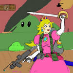 Peach, Warrior Princess