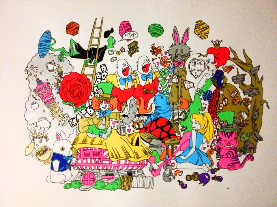 Alice in wonderland by Emy08