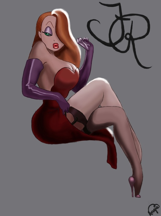 Another Jessica Rabbit By Angiepai On Deviantart
