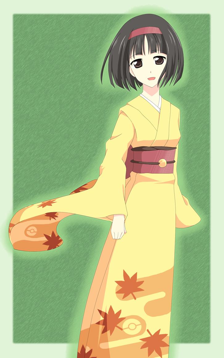 Grass Type Erika by MirakuruNaito