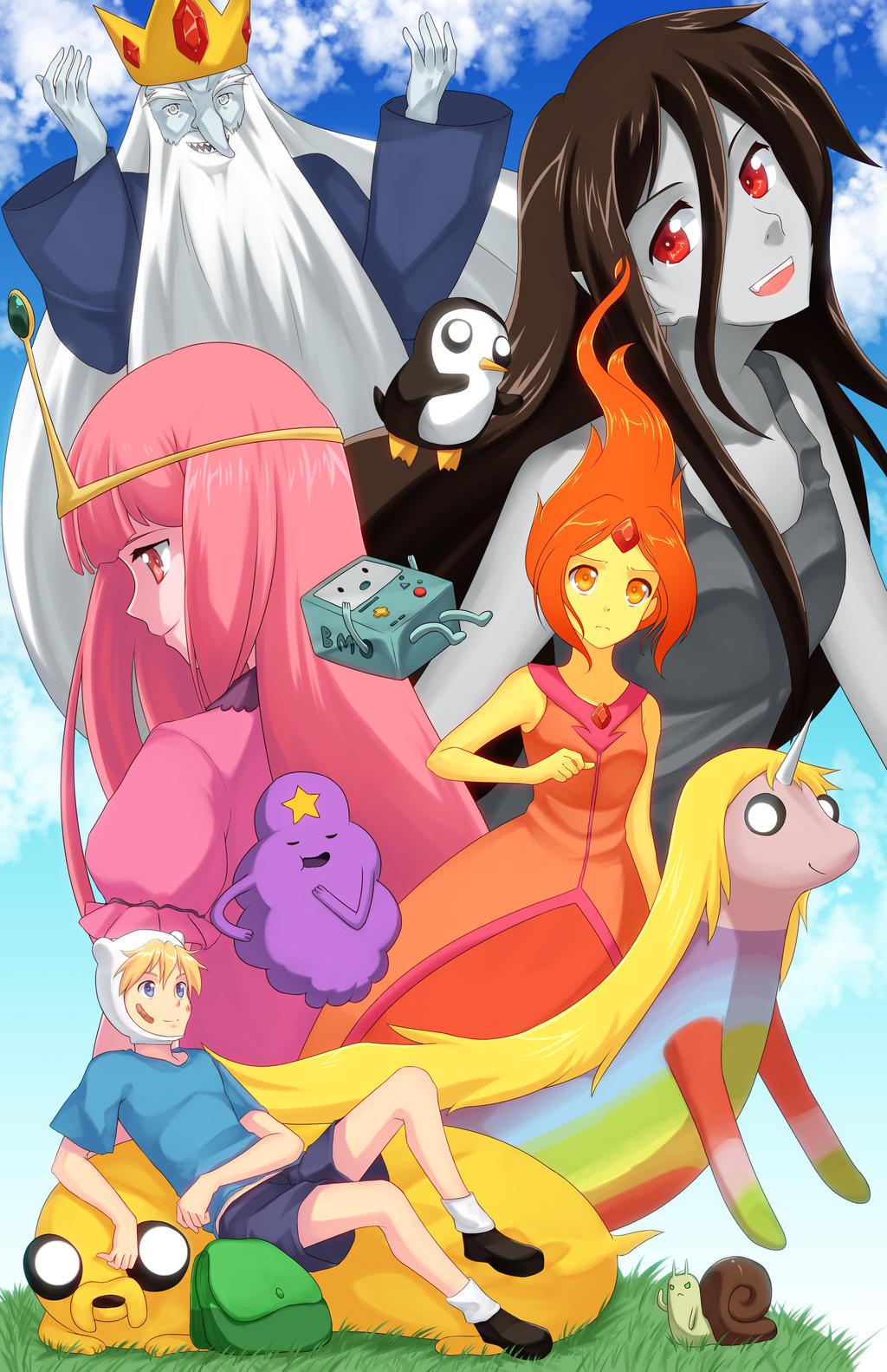 Adventure Times by MirakuruNaito