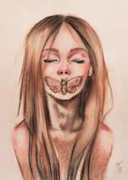silence by BlackFurya